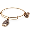 Guan Yin Charm Bangle Rafaelian Gold