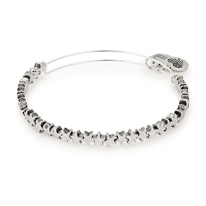 Star Beaded Bangle Rafaelian Silver
