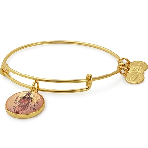 Lakshmi Charm Bangle Shiny Gold