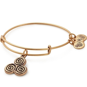 Triskelion Charm Bangle Rafaelian Gold
