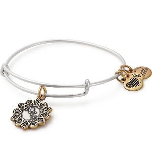 Virgo Two Tone Charm Bangle