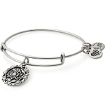 Lotus Peace Petals Charm Bangle Rafaelian Silver