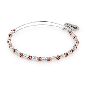 Orbit Two Tone Beaded Bangle