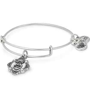 Mom Bangle Rafaelian Silver