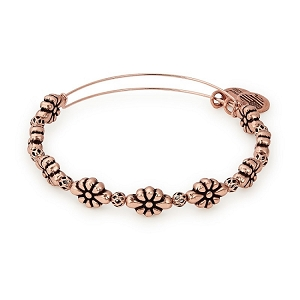 Blossom Beaded Bangle Rafaelian Rose Gold