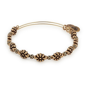 Blossom Beaded Bangle Rafaelian Gold