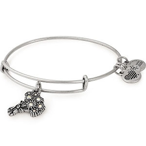 I Pick You Charm Bangle Rafaelian Silver