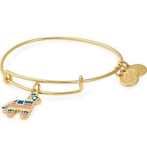 Pinata Charm Bangle Shiny Gold