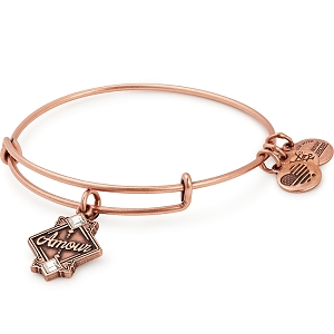Amour Charm Bangle Rafaelian Rose Gold