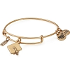 2018 Graduation Cap Charm Bangle Rafaelian Gold