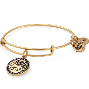 Soul Sister Charm Bangle Rafaelian Gold