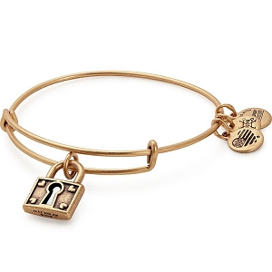 Unbreakable Love Charm Bangle Rafaelian Gold