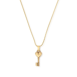 Key to Love Expandable Necklace Rafaelian Gold