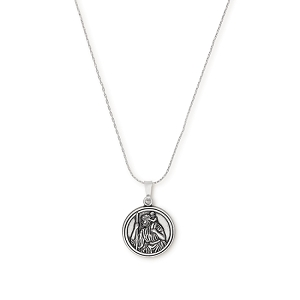 Saint Christopher Expandable Necklace Rafaelian Silver