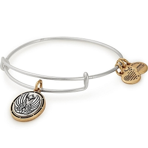 Guardian Charm Bangle Two Tone