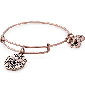 Future Mrs Charm Bangle Rafaelian Rose Gold