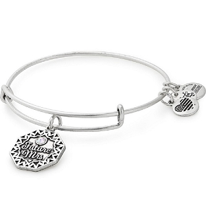 Future Mrs Charm Bangle Rafaelian Silver