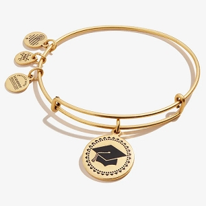 Class of 2020 Charm Bangle Rafealian Gold