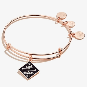 Soul Sisters Charm Bangle Color Rose Gold