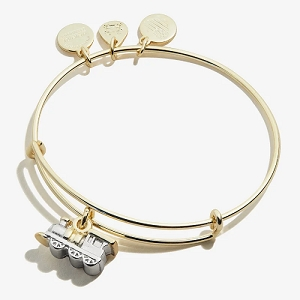 Train Charm Bangle Shiny Gold Baby 2 Baby