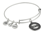 Kappa Alpha Theta Bangle Rafaelian Silver