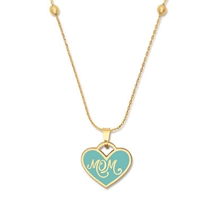 Mom Color Infusion Expandable Necklace Gold