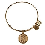 PGA Tour Logo Charm Bangle Rafaelian Gold