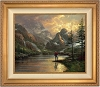 Thomas Kinkade Almost Heaven Canvas Framed