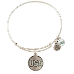 Team USA Bangle Rafaelian Silver