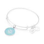 U.S. Coast Guard Charm Bangle Shiny Silver