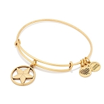 Star Of Strength Charm Bangle Rafaelian Gold
