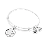 Star Of Strength Charm Bangle Rafaelian Silver