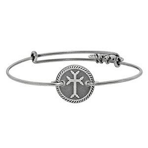 Armenian Cross Horizontal Bangle Rafaelian Silver