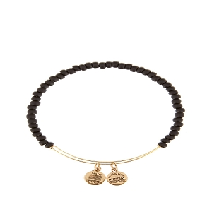 Color Beaded Black Rafaelian Gold