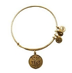 New York Mets Cap Logo Bangle Rafaelian Gold