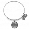 Cleveland Browns Logo Charm Bangle Rafaelian Silver