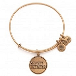 Carolina Panthers Logo Charm Bangle Rafaelian Gold