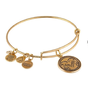 Colorado State University Mascot Charm Bangle Rafaelian Gold