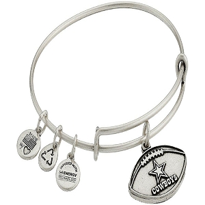 Dallas Cowboys Football Charm Rafaelian Silver