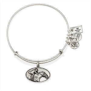 Racehorse Charm Bangle Rafaelian Silver