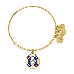 Team USA Flame Charm Bangle Rafaelian Gold