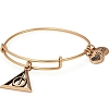 Harry Potter Deathly Hallows Charm Bangle Rafaelian Gold