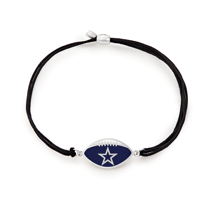 Dallas Cowboys Pull Cord Bracelet