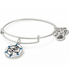 Team USA Ice Figure Skating Charm Bangle Rafaelian Silver