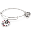 Team USA Snowboarding Charm Bangle Rafaelian Silver