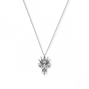 Wonder Woman Spike Adjustable Necklace Rafaelian Silver
