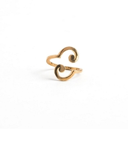 Spiral Ring Wrap Gold