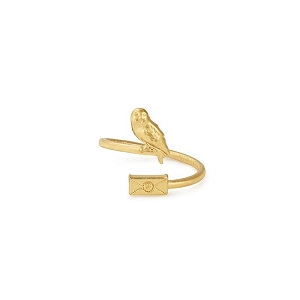 Harry Potter Owl Post Ring Wrap Gold