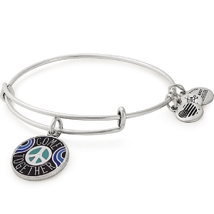 Come Together Charm Bangle Lennon & McCartney Rafaelian Silver