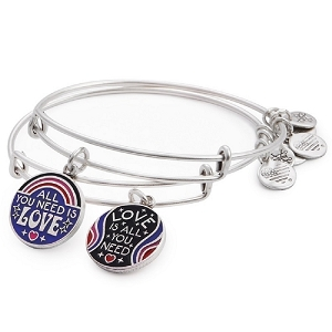 All You Need is Love Set of 2 Lennon & McCartney Silver